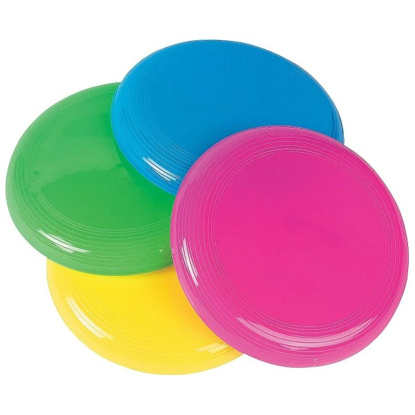 Kids Party Favours Toys Novelty Plastic Mini Flying Discs