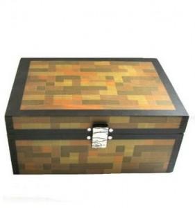 Minecraft Inspired Chest And Desktop Organizer Only 1751