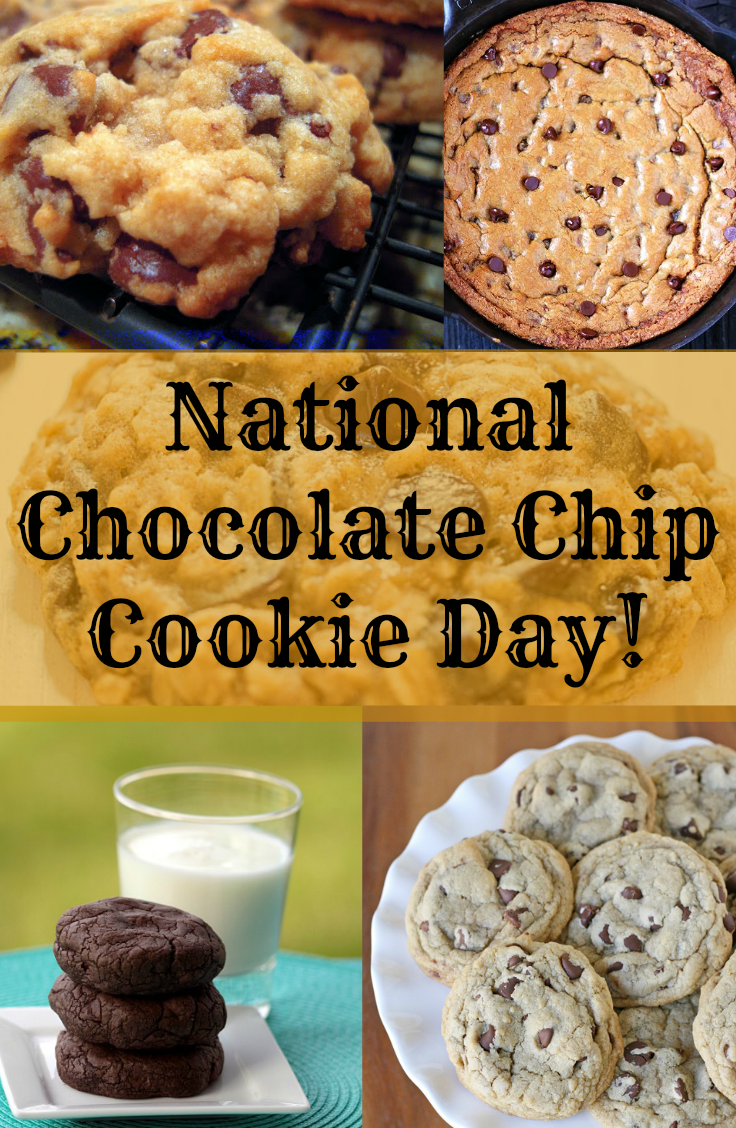 August 4 is National Chocolate Chip Cookie Day  DiscountQueenscom