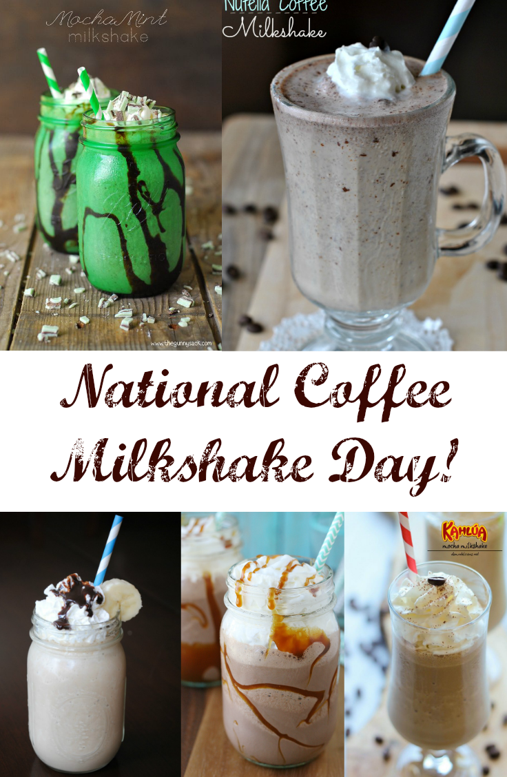 July 26 is National Coffee Milkshake Day  DiscountQueenscom
