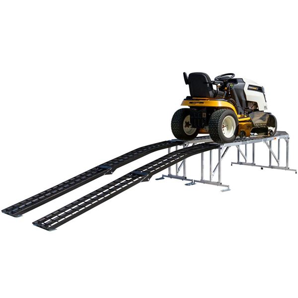 Lawn Tractor Service Work Stand for Mowers with Decks