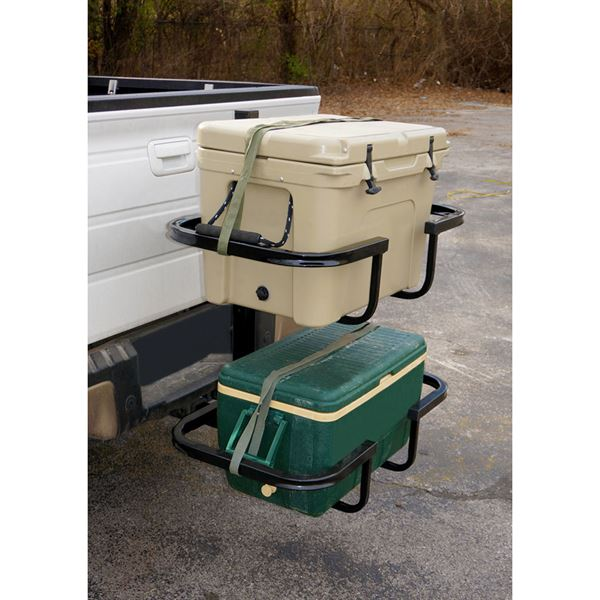 viking hitch mounted deluxe stack rack