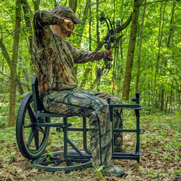 portable hunting chair gaming cheap kill shot throne multipurpose game cart discount ramps 2