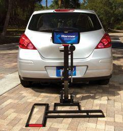 al015 b harmar battery powered scooter micro lift carrier 1 [ 1000 x 1000 Pixel ]
