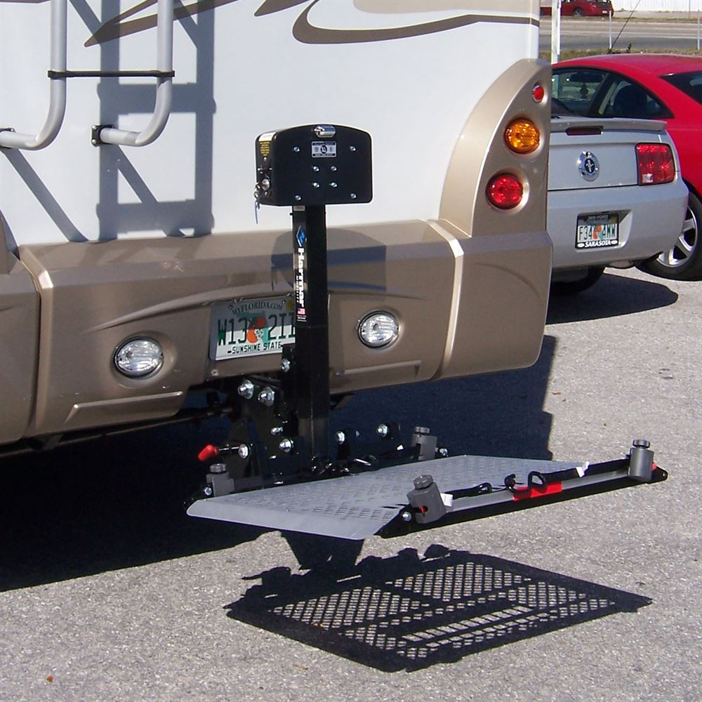 trailer hitch chair directv wiring diagram genie harmar rv electric power & scooter lift carrier | discount ramps