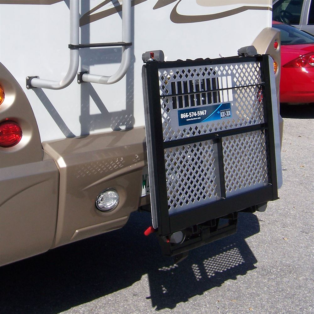 motorized chair lift target mat harmar rv electric power & scooter carrier | discount ramps