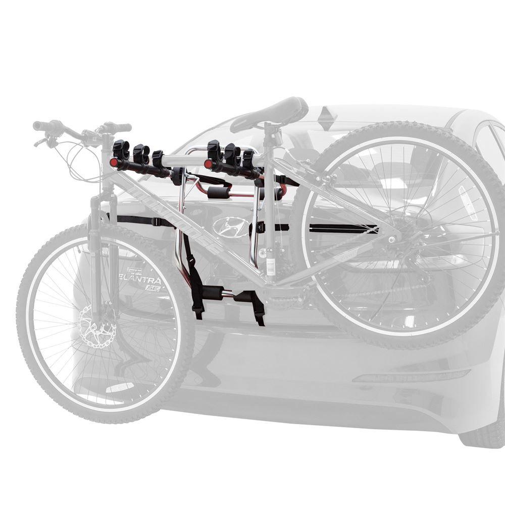 elevate outdoor trunk bike rack 3 bike
