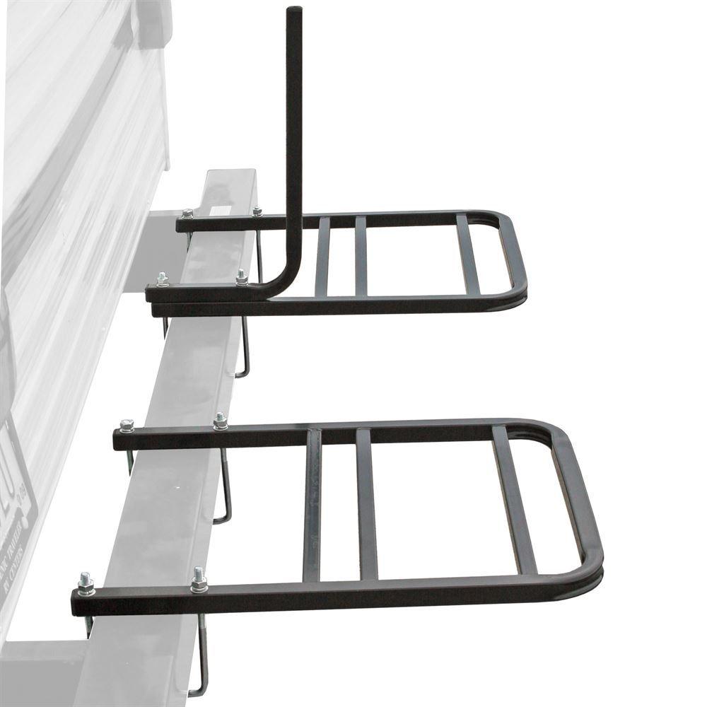 elevate outdoor rv bumper 2 or 4 bike rack
