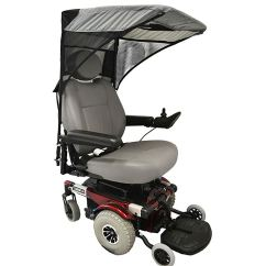 Wheelchair Base Es Robbins Chair Mat For Hard Floors Scooter Canopy Model In Charcoal Gray Discount C2410