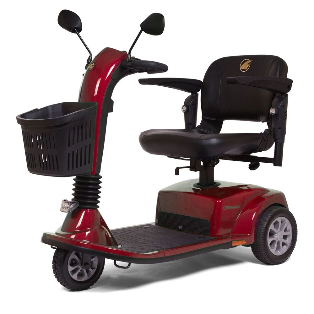 medium resolution of gt gc340d golden technologies companion three wheel full size mobility scooter 1