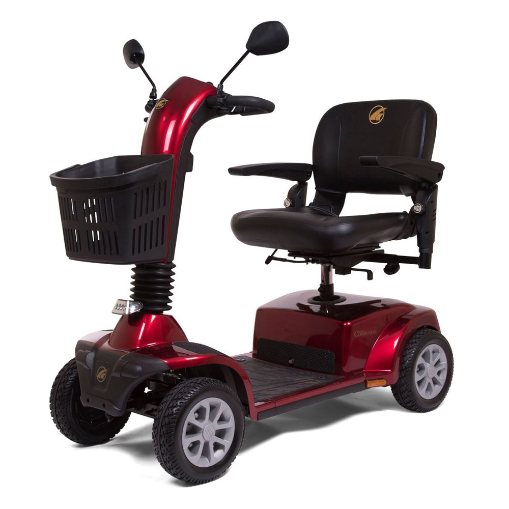 gt gc440d golden technologies companion four wheel full size mobility scooter [ 1000 x 1000 Pixel ]