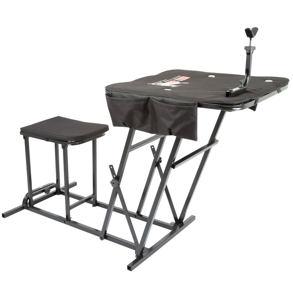 Kill Shot Portable Shooting Bench With Gun Rest Discount