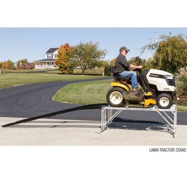 lawn tractor service work stand