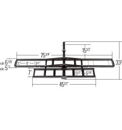 mcc 500 black widow steel motorcycle carrier 500 lb capacity 1 [ 1000 x 1000 Pixel ]