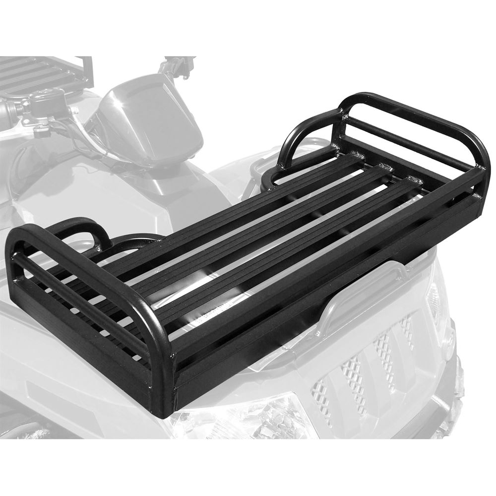 hight resolution of mlfr50 great day mighty lite aluminum atv front rack basket