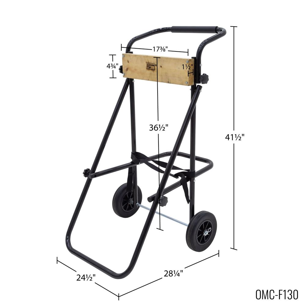 Harbor Mate Outboard Motor Cart With Folding Handle