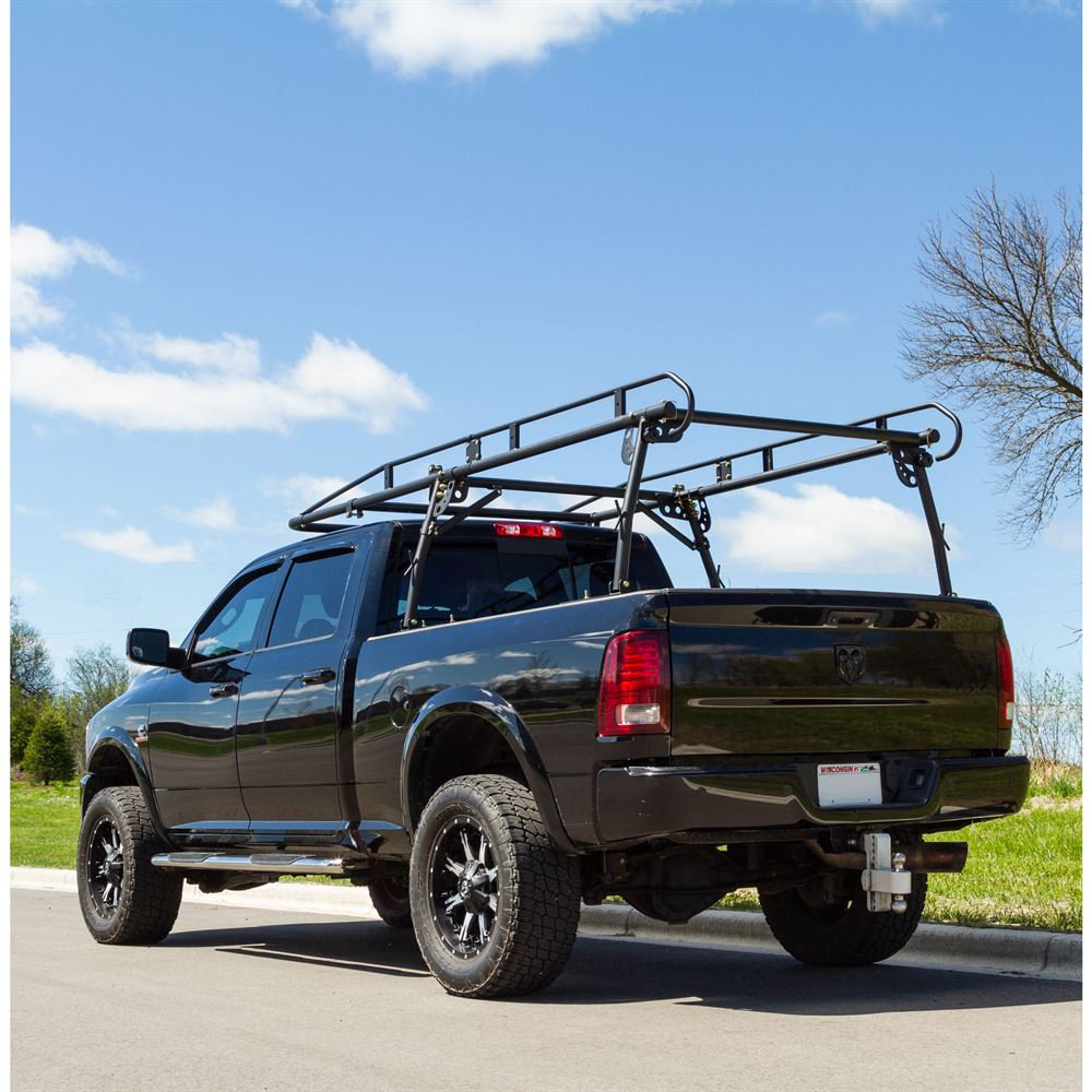 elevate outdoor 1 500 lb capacity universal over cab truck rack