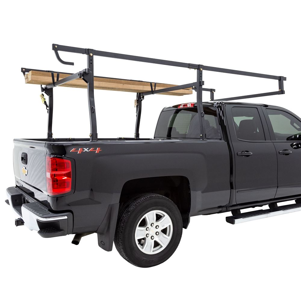 elevate outdoor universal fit full size steel truck rack 1 000 lb capacity