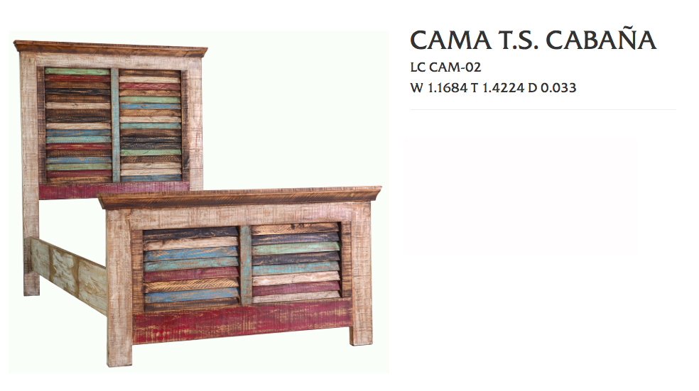 Cabana Collection Discount Rustic Furniture