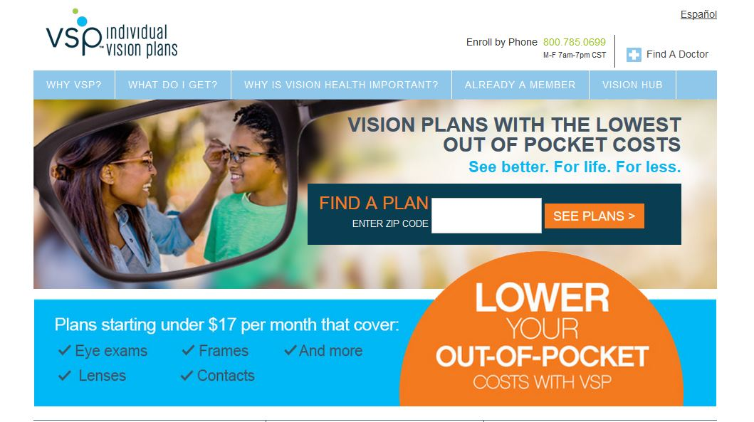 Vision Service Plan VSP 20% Off on Designer Frames Coupon ...