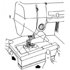 Singer Extension Table #356027-452, 2300-series, sewing