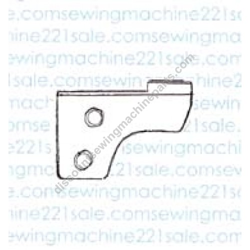 Serger Lower Knife #784048001, 104D, sewing machine parts