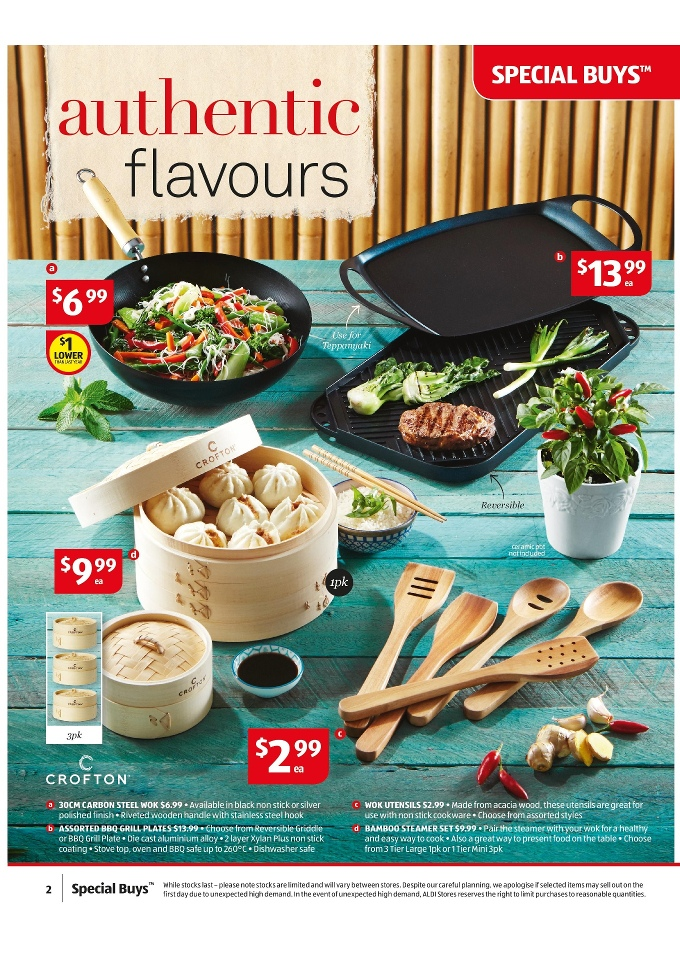 steamer kitchen lowes hood aldi catalogue february special buys 2015 page 2