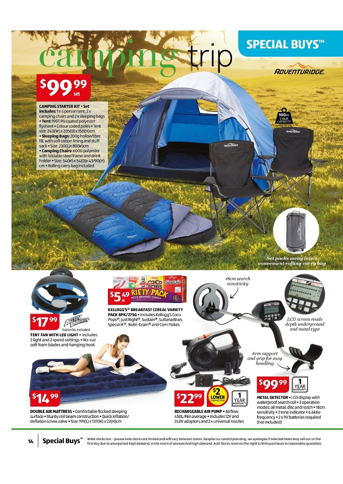 Aldi Special Buys January 2015 Page 14