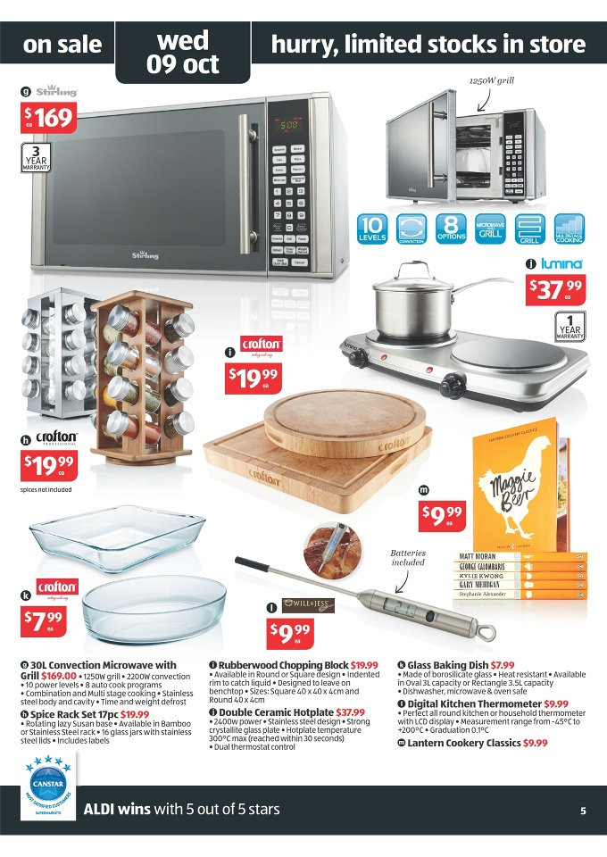 ALDI Catalogue  Special Buys Week 41 2013 Page 5