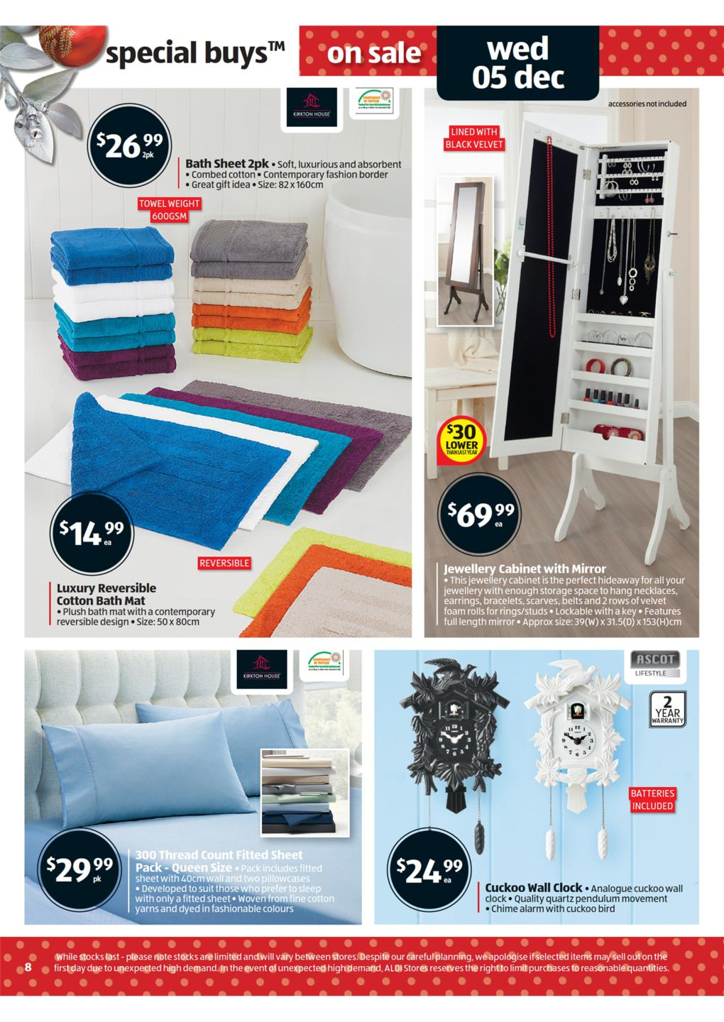 ALDI Catalogue  Special Buys Wk 49 Page 8