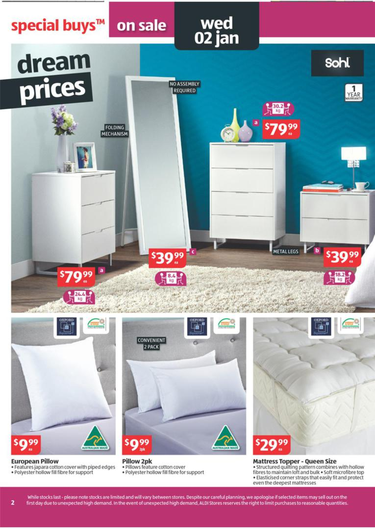ALDI Catalogue  Special Buys Wk 52 January Page 2
