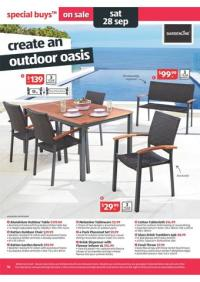 Gardenline Outdoor Furniture; Aldi Special Buys Week 39
