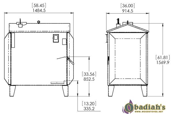 Empyre Elite XT 100 Wood Gasification Boiler at Obadiah's