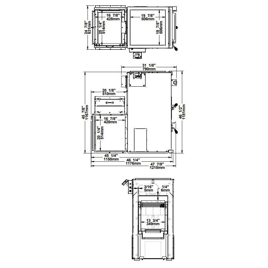 medium resolution of diagrams for the psg mini caddy epa wood fireplace pf01302