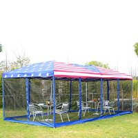 Outsunny 10 x 20 Pop-Up Canopy Shelter Party Tent with ...
