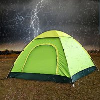 Pop Up Camping Tent by TSWA  Automatic & Instant Setup