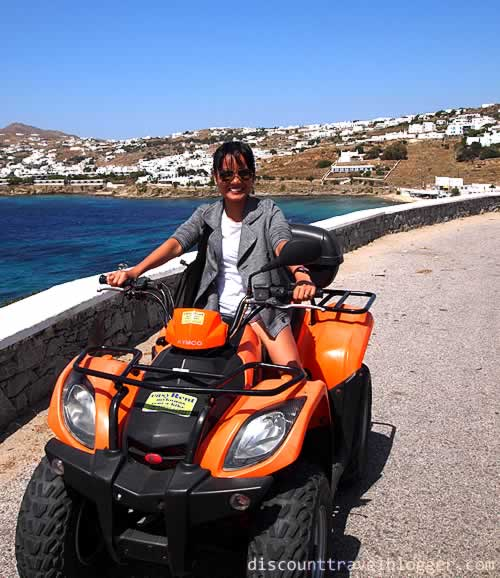 Fun ATV Ride in Mykonos