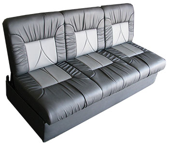 sofa bed for rv white chesterfield hire furniture seats sedona i