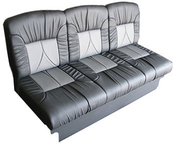 jackknife sofa with seat belts lounge suite bed van sleeper   review home co
