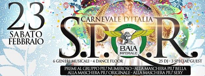 Carnevale Baia Imperiale Sabato 23 Febbraio 2013