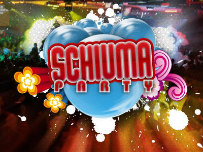 Schiuma Party Discoteca Altromondo Rimini