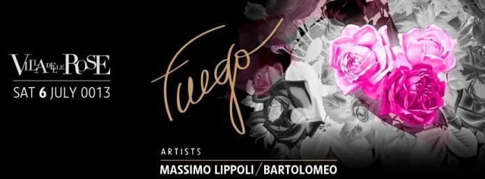 Weekend Notte Rosa 2013 Villa delle Rose , Venerdi 6 e Sabato 7 Luglio