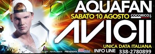 Super weekend il 9 e 10 Agosto a Riccione con Calvin Harris al Cocorico e Avicii all'Aquafan