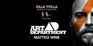 Per il VillaTitilla di Martedi 19 Luglio gli Art Department alla Villa delle Rose
