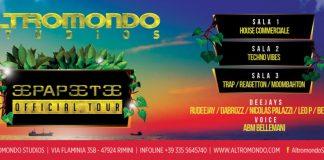 Party Papeete On Tour Venerdì 22 Luglio all'Altromondo Studios di Rimini