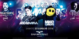 Special guest Mike Candys + Quentin Mosimann Sabat0 23 Luglio Baia Imperiale