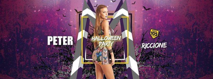 28, 29 e 31 Ottobre 2016, 3 grandi serate e party per il lungo weekend di Halloween del Peter Pan di Riccione
