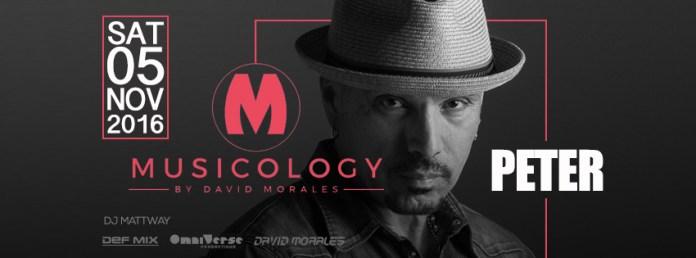 David Morales special guest del 1° weekend di Novembre del Peter Pan di Riccione
