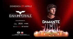 Per la Pasqua 2019 Domenica 21 Aprile special guest Andrea Damante alla Baia Imperiale