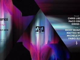 Special Guest Chris Liebing e Paco Osuna il 7 Luglio 2018 al Cocorico Riccione